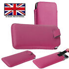 SAMSUNG GALXAY NOTE 5 - PU Leather Slim Pull Tab Phone Case Cover Sleeve Pouch