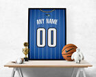 Orlando Magic Jersey Poster - Personalized Name & Number FREE US SHIPPING on eBay