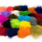 STRUNG MARABOU BLOOD QUILLS - Hareline Fly Tying Feathers Jig Fishing Lure Craft