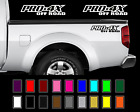 2X Nissan Frontier PRO-4X Off Road Truck Bed Decal Set Emblem Vinyl Stickers