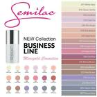 SEMILAC Hybrid Manicure Nail Polish GEL Soak Off 7ml ALL COLOURS!