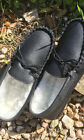 Lambland Mens Genuine Leather Moccasin Slippers - Luxurious Lambswool Lining