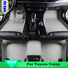 Yes 8 Colors Auto Car Floor Mat Carpet Leather Y2R3 For Toyota Venza 2009-2016