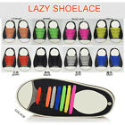 1Set Lazy No Tie Shoelaces Silicone Shoelaces Elastic Shoe Laces For Sneakers