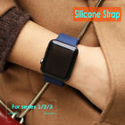 Luxury Replacement Sports Silicone Bracelet Strap Watch Band For Apple Iwatch