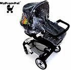 My Pram Pal® Raincover compatible with MAMAS & PAPAS Carrycot.