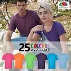 FRUIT OF THE LOOM Mens Womens Plain 100% Cotton T-Shirt | 25 COLOURS | S - 5XL