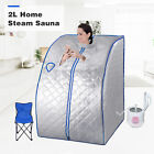 Portable 2L Home Steam Sauna Spa Full Body Slimming Loss Weight Detox Therapy cheap