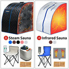 Portable Steam / Far Infrared Sauna Tent Spa Full Body Loss Weight Detox Therapy