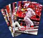 2017 Topps Cincinnati Reds Baseball Card Your Choice - You Pick