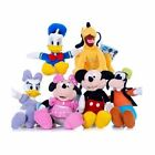 New Disney Mickey Mouse Clubhouse 20cm Range Soft Plush Toy - Select Character