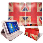 Luxury Universal Flip Leather Stand Case Cover For Various Argos Bush Tablets