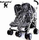 My Pram Pal® Raincover Compatible with OBABY APOLLO/DISNEY Twin Pushchair