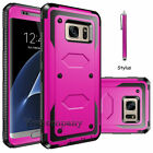 For Samsung Galaxy Note 5 Hybrid Rubber ShockProof Protective Hard Case Cover