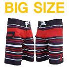 "Mowave big size board shorts swim pants wear trunk waist 38""~48"""