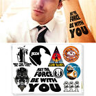 Star Wars Fans Flash Tattoo Sticker Temporary Body Art Toys Decoration Labels $1.06 USD on eBay