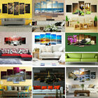5pcs Oil Painting Picture Print Canvas Large Modern Home Wall Decor Art Unframed