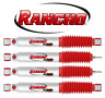 """For Ford F-250 Super Duty 2WD Front & Rear 0"""" Lift Shocks RS5000 Rancho KIT"""