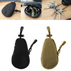 EDC Waterproof Key Bag Tactical Coins Pouch MP3 Keychain Hol
