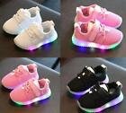 Lovely Children Boys Girls kids LED Light Running Sneakers Baby Shoes Toddler