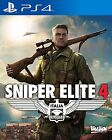 New Sony Playstation 4 PS4 Games Sniper Elite 4 Europe VERSION English Subtitle