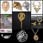 Sale! Game Of Thrones Pin Authentic & Detailed Badge Replica Jewellery Jewelry