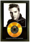 ELVIS PRESLEY**ADD YOUR PERSONAL MESSAGE**SIGNED GOLD DISC DISPLAY