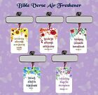 BIBLE VERSE CAR/OFFICE/STUDY AIR FRESHENER  GENESIS JOHN CHRONICLES