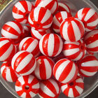 6pcs of Lucite 15mm Round Beads