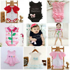 1pc baby clothes girls summer cotton bodysuit infant newborn jumpers Muti-style