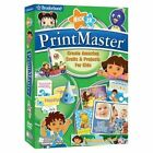 PrintMaster Nick Jr. (for PC, 2008) Vista or better,  *New,Sealed*