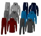 New Mens Tracksuit Set Fleece Hoodie Top Bottoms Jogging Joggers Gym Base Hybrid
