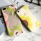 Fashion sunflower Print phone back Cases Cover For iPhone 7 7 Plus 6S 6 Plus
