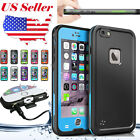 Swimming Waterproof Shockproof SnowProof Case Cover For Apple iPhone 6 6S Plus