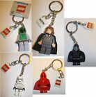 LEGO MINI FIGURES KEYRINGS TO CHOOSE FROM