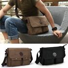 Vintage Men's Canvas Messenger Shoulder Bag Military Crossbody Bags Satchel USA