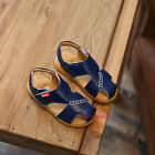New 2017 Summer Children Toddlers Kids Boys Casual Beach Sports Leather Sandals