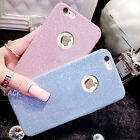 Luxury Glitter Bling Soft Crystal TPU Phone Case Cover For iPhone 5 6s 7 Plus