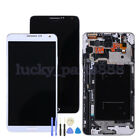 For Samsung Galaxy Note 3 N9005 LCD Display Touch Screen Digitizer Assemb +Frame
