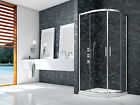 MERLYN IONIC ESSENCE FRAMED 2 DOOR QUADRANT SHOWER 8mm GLASS ENCLOSURE BATHROOM