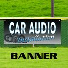 Car Audio Installation Vinyl Banner Sign Stereo Speakers Auto Repair Amps