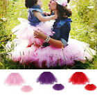 Mother and Daughter Casual Tutu Dress Boho Stripe mommy me matching set outfits