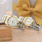 CHENXI Lovers Womens Mens Stainless Steel Strap Splashproof Quartz Wirst Watches