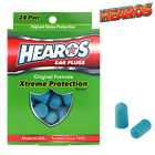 Hearos Xtreme Protection Series Earplugs Hearing Protection NRR 32dB ORIGINAL