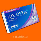 •• Air Optix Multifocal 1x3 Box Aqua •WERTE WÄHLBAR• Monatslinsen Kontaktlinsen•