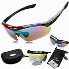 Unsex Polarized Bicycle Motorcycle 5 Lens Goggles Outdoor Eyewear Sunglasses