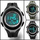 Digital Temperature Wrist Watch Shock Waterproof Skmei G LED Quartz Mens Boys