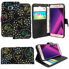 MAGNETIC FLIP LEATHER WALLET CASE COVER FOR SAMSUNG A3 A5 J3 J5 J7 2016 / 2017 <br/> *Royal Mail 1st Class Postage*High Quality*New Stock