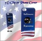 3D AMERICAN FOOTBALL TEAM I PHONE CLIP ON COVER/CASE PACKERS PATRIOTS COWBOYS