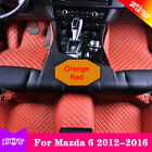For Mazda 6 12-16 Y2R3 Waterproof Car Floor Mats Yes 7 Colors Front+Rear Safety